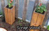 Schroot hout tuin plantenbakken