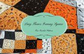 Lacy bloem Granny Square – gratis gehaakt patroon