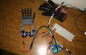 Handschoen Controlled Robotic Hand - goedkope en eenvoudige versie