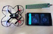 Control quadcopter vanaf uw telefoon in 30 minuten! [ESP8266 + A7105 + Blynk App voor iOS/Android]