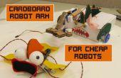 Kartonnen robotarm voor goedkope Robots