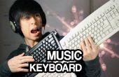 MIDI-Controller met toetsenborden