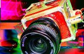 Bouw shiney messing camera gebruik van standaard m42 lenzen op posh middenformaat film!