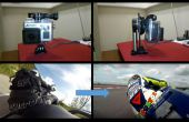 Gyroscopische Gopro mount / MotoGP-stijl