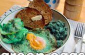 Echte groene eieren (en ham)