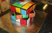 Hoe maak je een volslagen awesome Rubik's kubus taart!