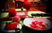 Volledige cursus watermeloen maaltijd voor twee!