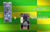 Draadloze afstandsbediening met behulp van de 2,4 Ghz NRF24L01: eenvoudige Tutorial met behulp van NRF24L01 & Arduino
