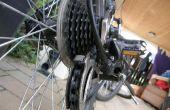 Geven van uw fiets zijn wekelijks schoon en netjes.
