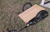 Omzetten van een fiets kind Trailer in een lading aanhangwagen