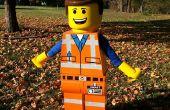 Emmet lego figuur kostuum uit LEGO film