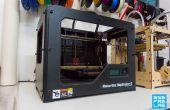 Imprimindo 3D com een Makerbot Rep 2