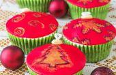 Hoe maak je Cupcake kerstballen (zelfstudie)