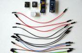 Arduino en Visuino: gebruik PCF8574/PCF8574A I2C GPIO meer digitale kanalen toevoegen aan Arduino