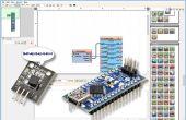 Arduino Nano: Lezen van DS1820/DS18S20 Maxim één draad Thermometer adres met Visuino