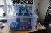 Behuizing voor 3D-printer met behulp van Ikea vak