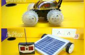 RC auto aan zonne-Robot Makeover