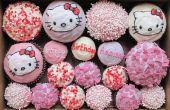 Hallo Kitty Cupcakes