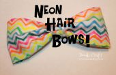 Sharpie geverfd Trendy Neon haren bogen!