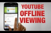 YouTube-video's zonder Internet