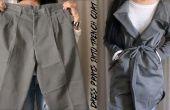 DIY Dress broek in Trench Coat