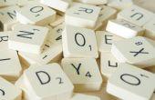 Koelkast magneten Scrabble