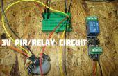 3V PIR bewegingsmelder rijden een (defect) 3v Relay Module