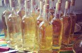 Huisgemaakt druif wijn