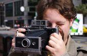 Doe herleven een Polaroid Camera van het Land