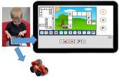 Een touch spel om te leren programmeren concepten aan kinderen