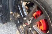 Hoe te DIY aan verf spuiten uw wielen met kleurrijke Rubber Film