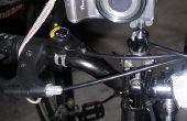 De handen gratis fiets Camera statief