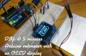 DIY: Een 5 minuten Arduino Voltmeter met een OLED-Display met