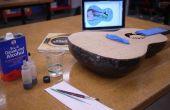 Laser geëtst & gekleurde zangbodem - gemaakt op Techshop