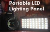 DIY Portable LED verlichting Panel