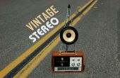 Vintage Inspired Stereo