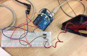 Controle van de snelheid van een DC-ventilator met een iPhone over wifi met Openframeworks