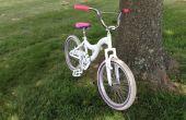 DIY fiets verf baan
