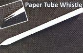 Een eenvoudige papier fluitje