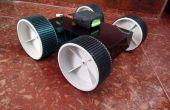 ANDROID gecontroleerde mijnen opsporing ROBOT