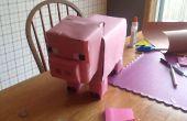 Hoe maak je een Minecraft Piggy Bank!