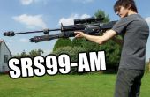 Houten Halo Reach Replica Rifle (niet-vuren Prop)