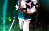 Link's zwaard, schede, schild en katapult