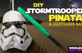 Star Wars - DIY Stormtrooper Pinata en Lightsaber Bat