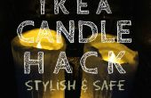 IKEA kaars Hack een verhoging van de stijlvolle en veilige