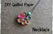 DIY Quilled papier ketting