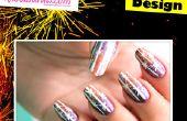 Crackers Nail Art Design
