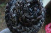 De beste manieren om te doen een lange haren spiraal vlecht
