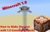 Hoe maak je lift met Minecraft 1.9 opdracht blokken