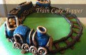 Trein cake-topper